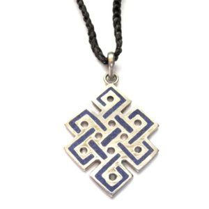 Jewelry - Endless Knot Cord Necklace